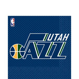 Utah Jazz Lunch Napkins 16ct