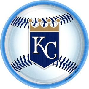 Kansas City Royals Lunch Plates 8ct