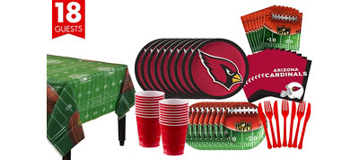 Arizona Cardinals Super Party Kit for 18 Guests