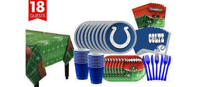 Indianapolis Colts Super Party Kit for 18 Guests