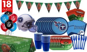 Tennessee Titans Deluxe Party Kit for 18 Guests
