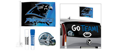 Carolina Panthers Car Decorating Tailgate Kit