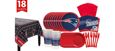 New England Patriots Super Party Kit for 18 Guests