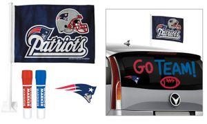 New England Patriots Car Decorating Tailgate Kit