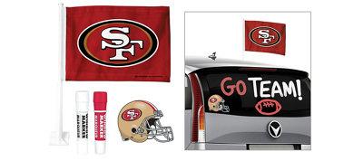 San Francisco 49ers Car Decorating Tailgate Kit