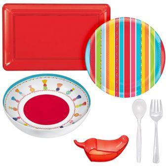 Fiesta Serveware Kit