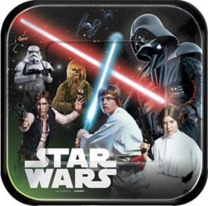 Star Wars Lunch Plates 8ct