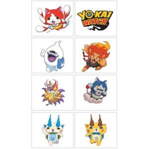 Yo-Kai Watch Tattoos 1 Sheet