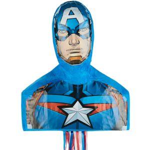 Pull String Captain America Pinata