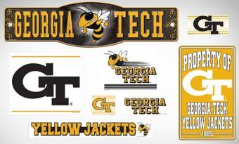 Georgia Tech Yellow Jackets Dorm Room Kit