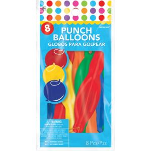 Punch Balloons 8ct