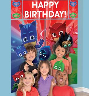 PJ Masks Photo Booth Kit 17pc