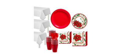 Winter Botanical Tableware Kit for 50 Guests
