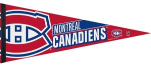 Montreal Canadiens Pennant Flag