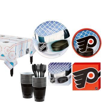 Philadelphia Flyers Basic Party Kit for 16 Guests