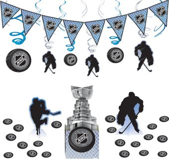 NHL Hockey Decorating Kit