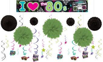 Totally 80s Super Decorating Kit