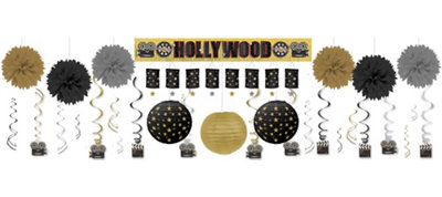 Clapboard Hollywood Deluxe Decorating Kit