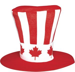 Giant Canadian Maple Leaf Top Hat