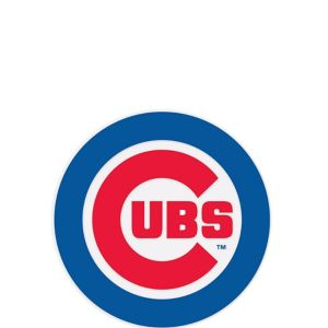 Chicago Cubs Cling Decal