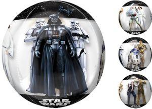 Star Wars Balloon - See Thru Orbz