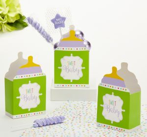 Gender-Neutral Baby Shower Favor Boxes 24ct