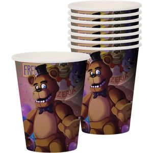 Five Nights at Freddy's Cups 8ct