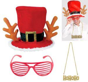 Adult Reindeer Santa Accessory Kit