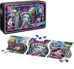 Monster High Panorama Puzzle 135pc
