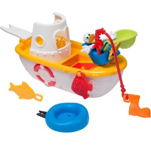 Mickey Mouse Clubhouse Fishing Boat Playset 9pc