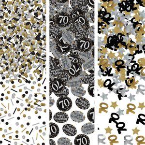 70th Birthday Confetti - Sparkling Celebration