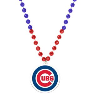 Chicago Cubs Pendant Bead Necklace