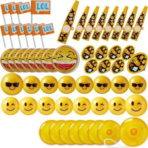 Smiley Favor Pack 48pc