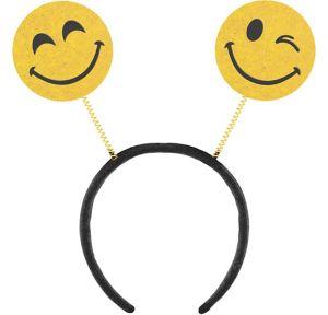Glitter Smiley Head Bopper