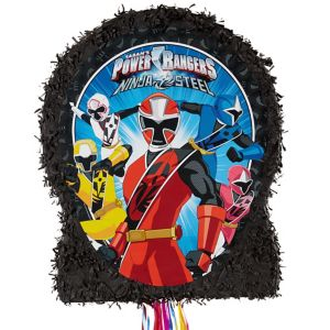 Pull String Power Rangers Pinata