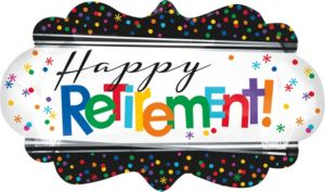 Happy Retirement Celebration Balloon