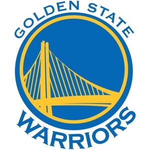 Golden State Warriors Cling Decal