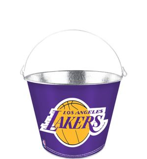 Los Angeles Lakers Galvanized Bucket