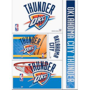 Oklahoma City Thunder Decals 5ct