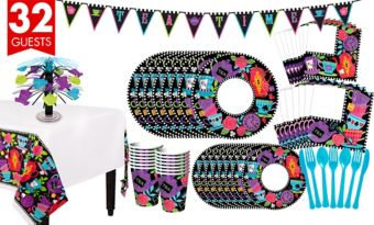 Mad Tea Party Tableware Kit for 32 Guests
