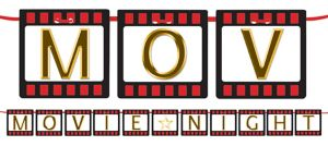 Hollywood Movie Night Letter Banner Kit