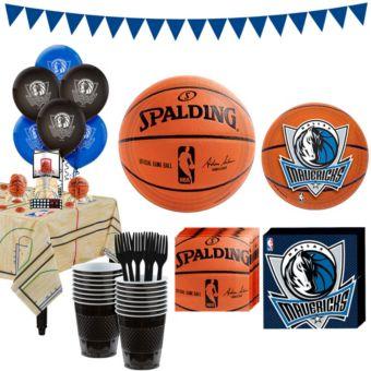 Dallas Mavericks Super Party Kit 16 Guests