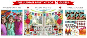 Elena of Avalor Ultimate Party Kit for 16 Guests