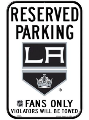 Reserved Parking Los Angeles Kings Sign