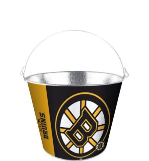 Boston Bruins Galvanized Bucket