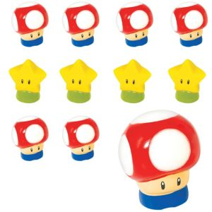 Super Mario Finger Puppets 24ct