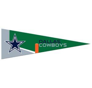 Small Dallas Cowboys Pennant Flag