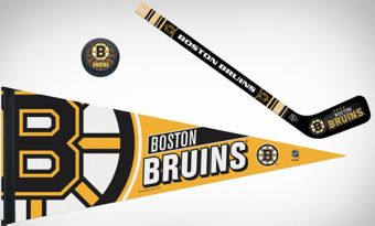 Boston Bruins Slap Shot Fan Kit
