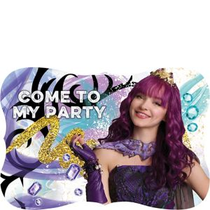 Descendants 2 Invitations 8ct
