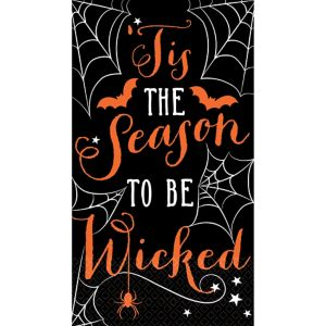 Wicked Halloween Guest Towels 16ct